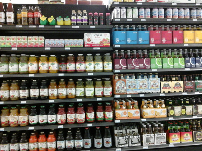 Natural Soft Drinks